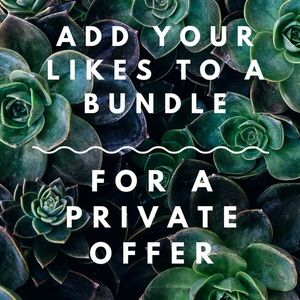 Like what you see?  Bundle your items!!!